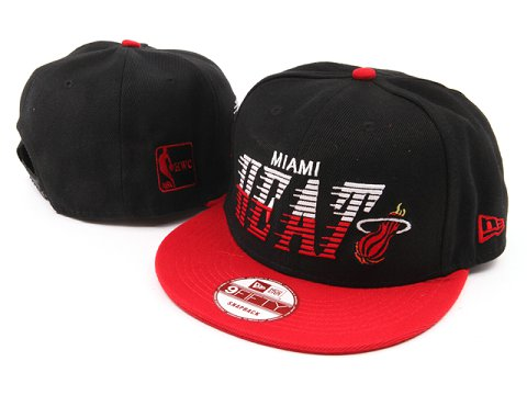 Miami Heat NBA Snapback Hat YS039